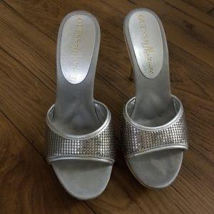 Silver clogs - Marciano